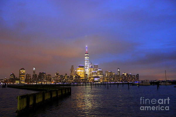 Wall Art - Photograph - Skyline Reflection by Hanni Stoklosa