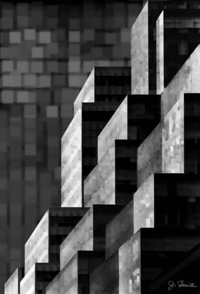 Wall Art - Digital Art - Manhattan No. 2 by Joe Bonita