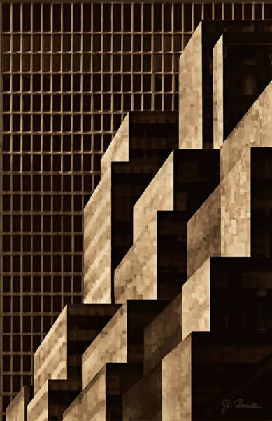 Wall Art - Digital Art - Manhattan No. 3 by Joe Bonita