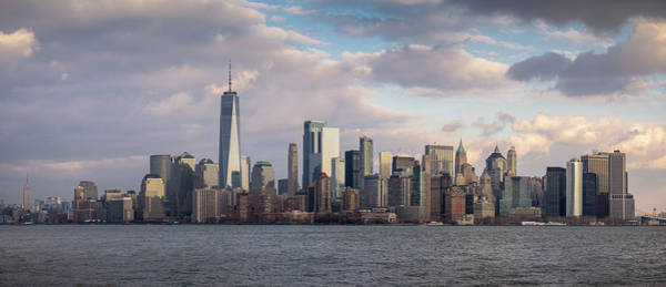 Photograph - Manhattan Pano by Josh Eral