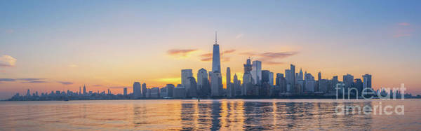 Lower Manhattan Photograph - Manhattan Panorama  by Michael Ver Sprill