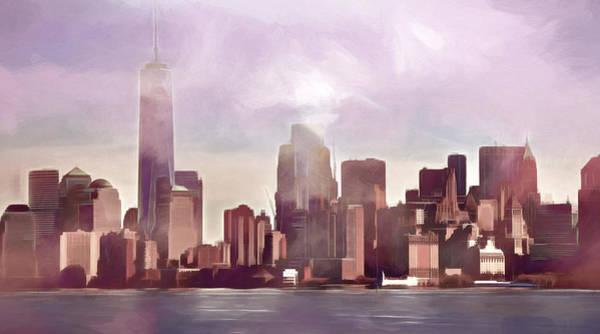 Photograph - Manhattan Panoramic by Lutz Baar