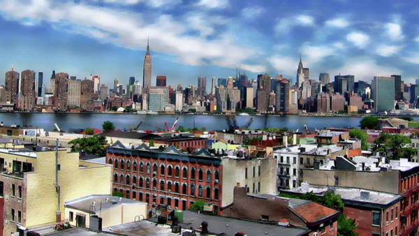 Photograph - Manhattan Skyline by Anthony Dezenzio