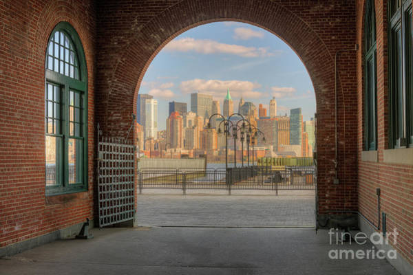Photograph - Manhattan Skyline From Crrnj Terminal I by Clarence Holmes