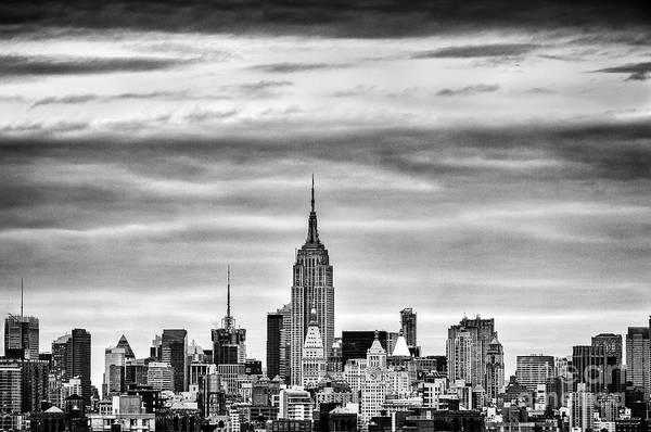 Wall Art - Photograph - Manhattan Skyline by John Farnan