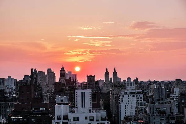 Wall Art - Photograph - Manhattan Sundown by Madeline Ellis