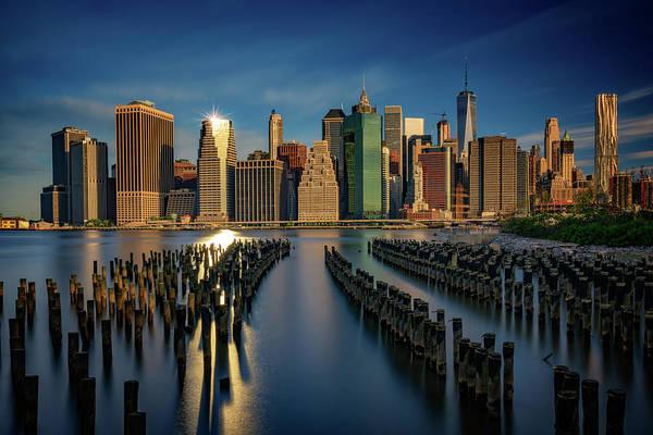 Photograph - Manhattan Twinkle by Rick Berk