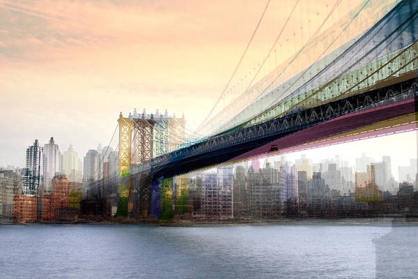 Manhattan X3 Art Print