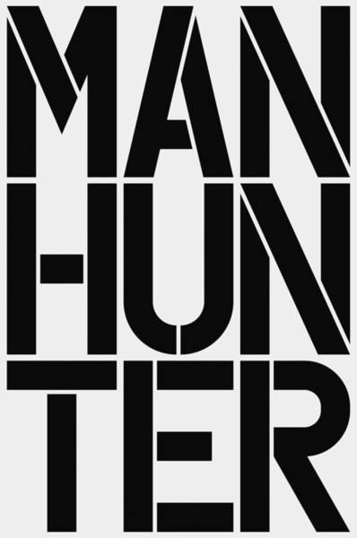 Wall Art - Painting - Manhunter by Three Dots