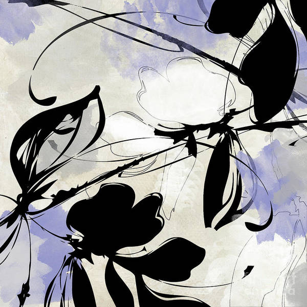 Wall Art - Painting - Manifesto Periwinkle by Mindy Sommers