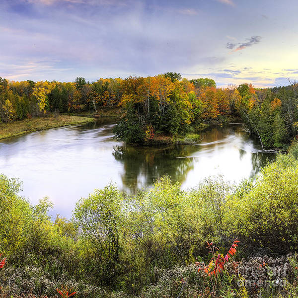 Manistee National Forest Wall Art - Photograph - Manistee River by Twenty Two North Photography