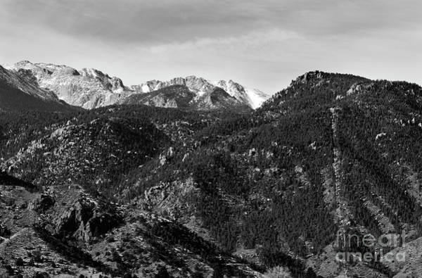 Photograph - Manitou Incline And East Face Of Pikes Peak by Steve Krull