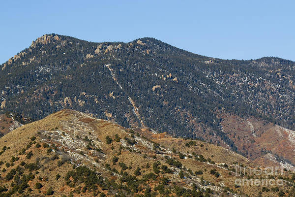 Photograph - Manitou Incline From A Distance by Steve Krull