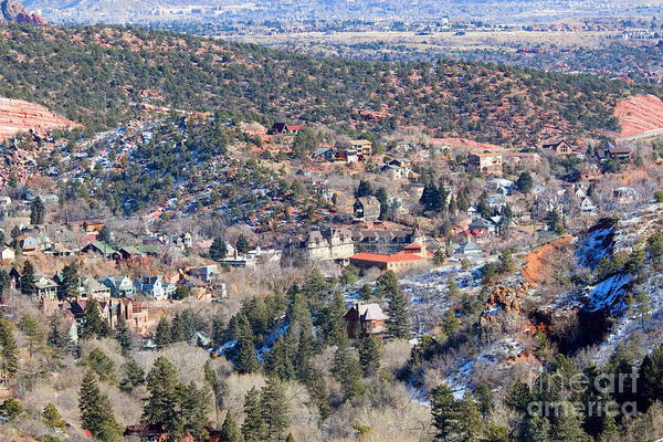 Photograph - Manitou Springs In Wintertime by Steve Krull
