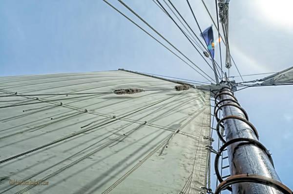 Aft Photograph - Manitou Tallship Sails by LeeAnn McLaneGoetz McLaneGoetzStudioLLCcom