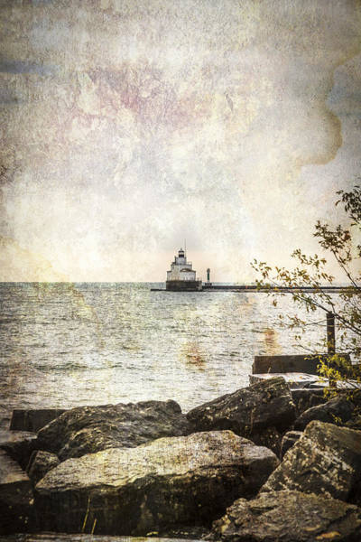 Wall Art - Photograph - Manitowoc Breakwater Lighthouse 2015-1 by Thomas Young