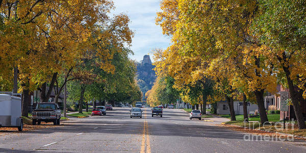 Photograph - Mankato Avenue In Fall II by Kari Yearous