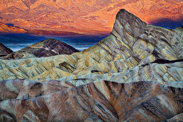 Photograph - Manly Beacon At Sunrise #2 - Death Valley by Stuart Litoff