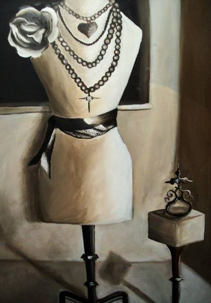 Wall Art - Painting - Mannequin I by Mikayla Ziegler