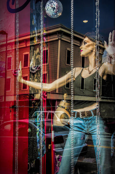 Photograph - Mannequin In Storefront Window Display With No Escape by Randall Nyhof
