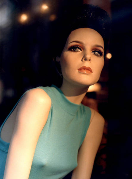 Photograph - Mannequin Looking Out by Joy McKenzie