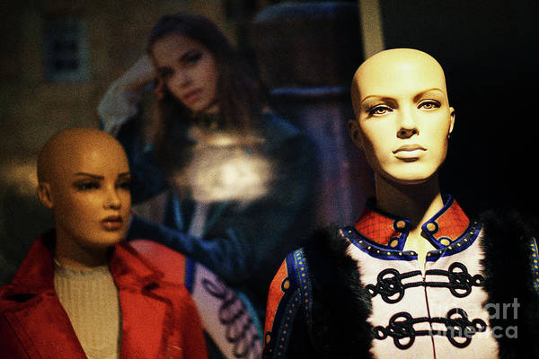 Photograph - Mannequin Showcase Cadiz Spain by Pablo Avanzini