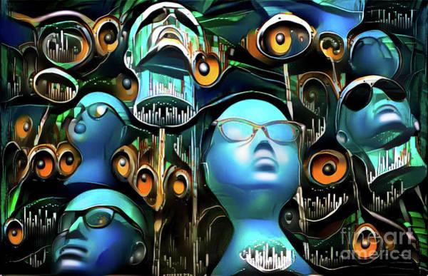 Mannequin Digital Art - Mannequins 11 by Amy Cicconi