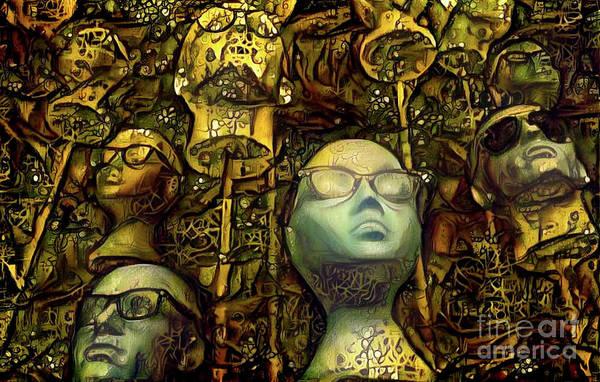 Mannequin Digital Art - Mannequins 8 by Amy Cicconi