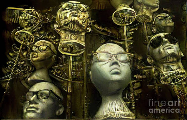 Mannequin Digital Art - Mannequins 9 by Amy Cicconi