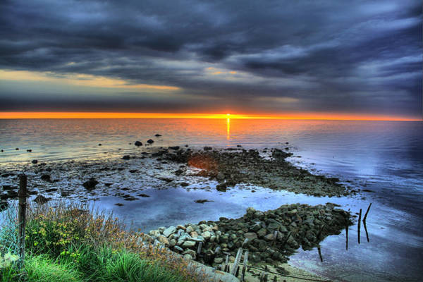 Plymouth Rock Photograph - Manomet Point by Jack Costello