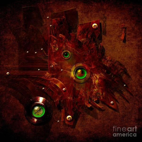 Digital Art - Manometer by Alexa Szlavics