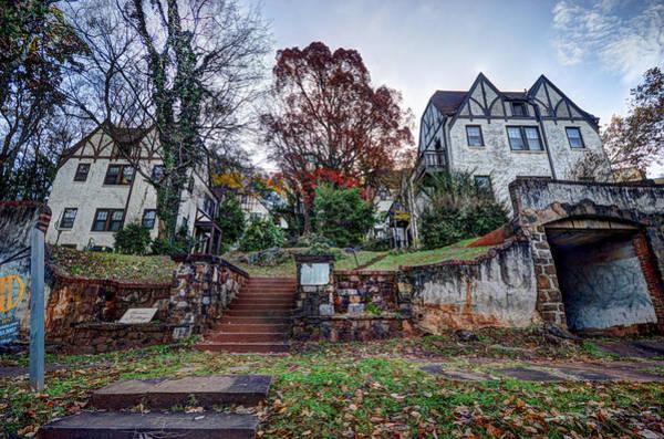 Photograph - Manor Village In Birmingham Alabama by Michael Thomas