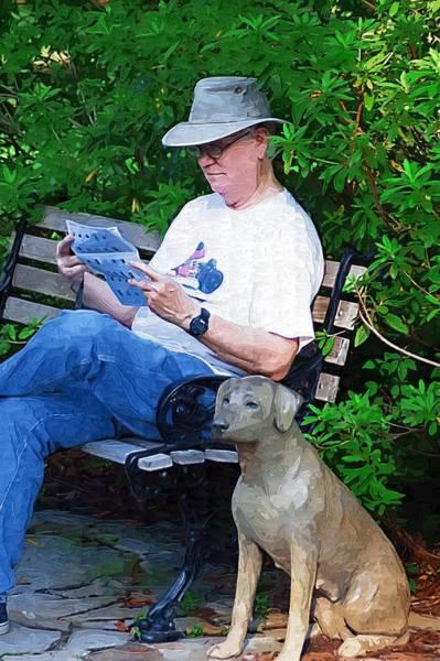 Photograph - Man's Best Friend by Donna Bentley
