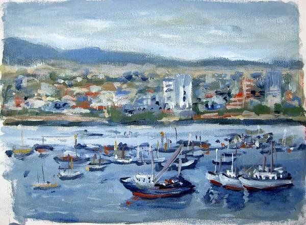 Painting - Manta Ecuador by Ingrid Dohm