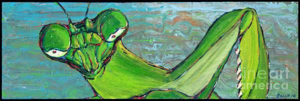 Painting - Mantis by Rebecca Weeks Howard