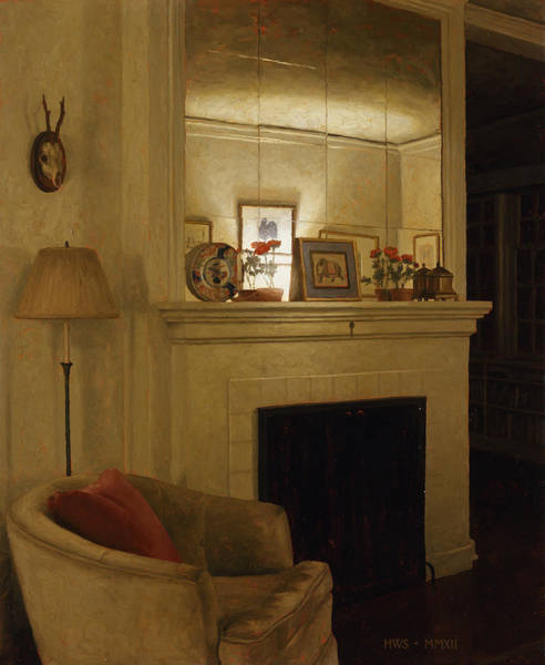 Painting - Mantle by Harry Steen