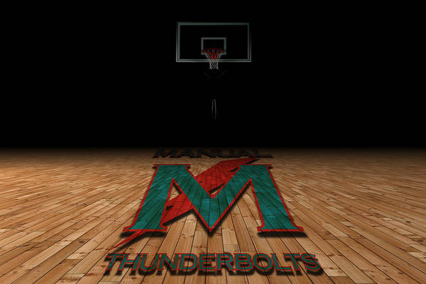High School Photograph - Manual Thunderbolts 5 by Joe Hamilton