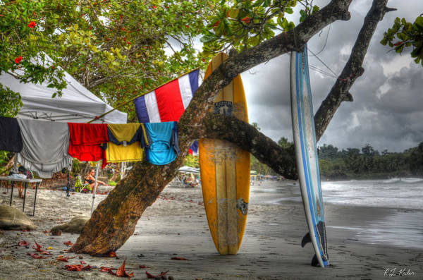 Manuel Wall Art - Photograph - Manuel Antonio Surfboards by Robert Kaler