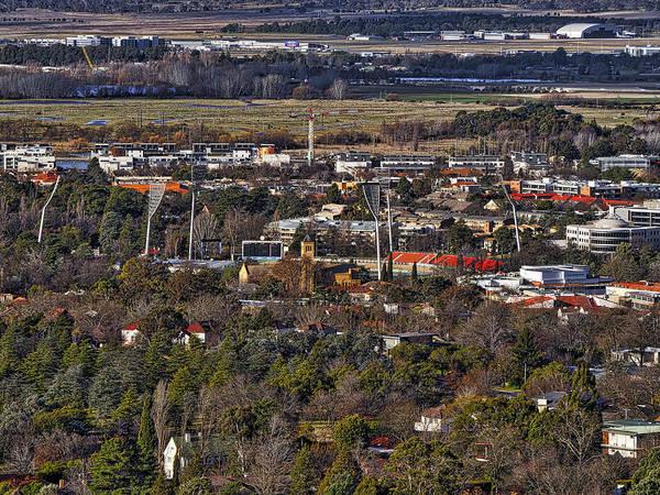 Photograph - Manuka Oval - Canberra - Australia by Steven Ralser