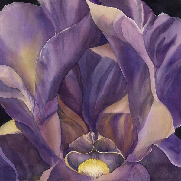 Painting - Many Shades Of Purple by Alfred Ng