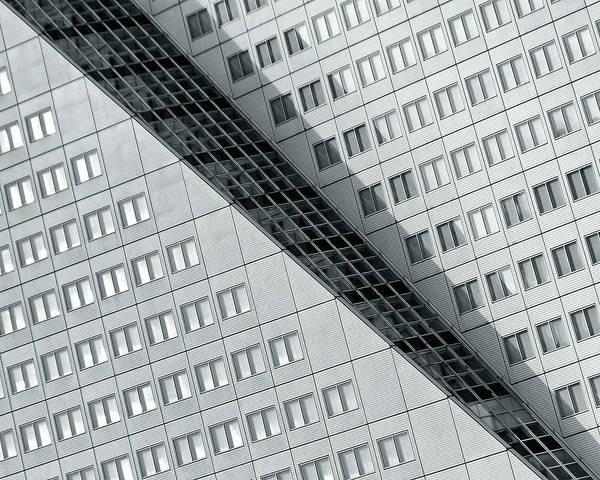 Lines Photograph - Many Windows 2 by Henk Van Maastricht
