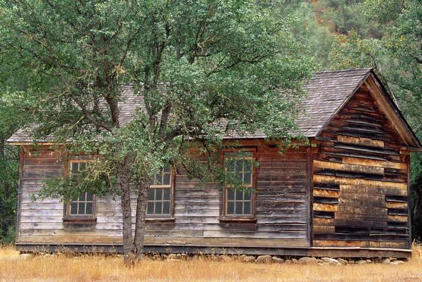 San Rafael Wilderness Photograph - Manzana Schoolhouse - 1895 by Soli Deo Gloria Wilderness And Wildlife Photography