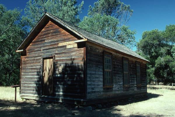 San Rafael Wilderness Photograph - Manzana Schoolhouse - San Rafael Wilderness by Soli Deo Gloria Wilderness And Wildlife Photography