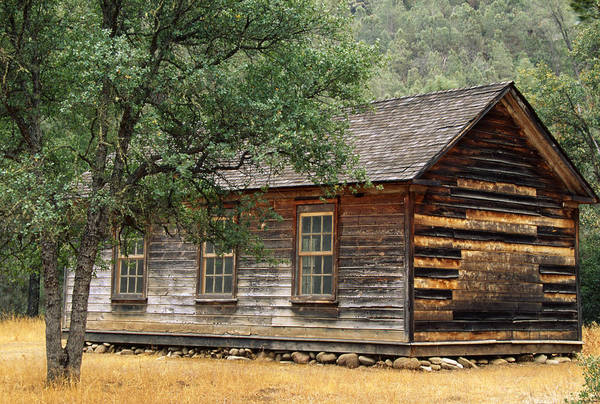 San Rafael Wilderness Photograph - Manzana Schoolhouse by Soli Deo Gloria Wilderness And Wildlife Photography