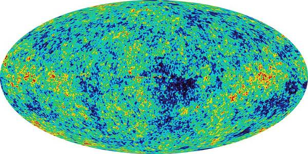 Photograph - Map Microwave Background by Nasa
