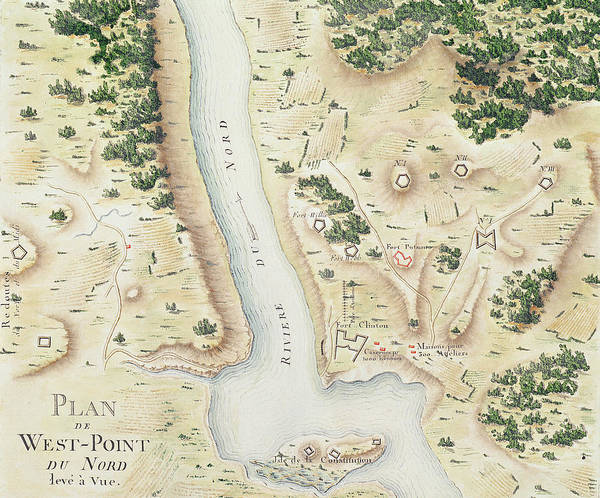 Point Of View Wall Art - Drawing - Map Of North West Point Va by F Dubourg