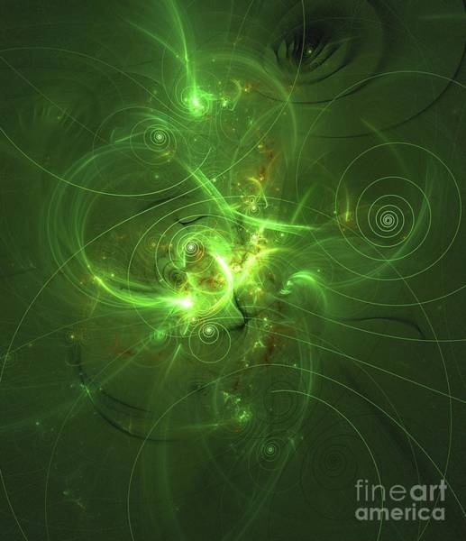 Fibonacci Spiral Digital Art - Map Of The Universe by Raphael Terra
