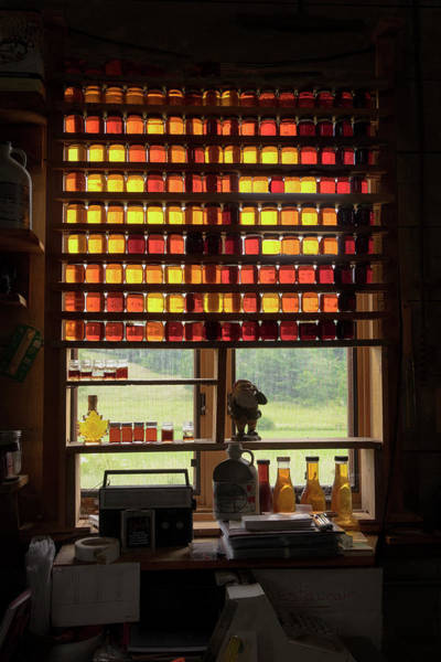 Photograph - Maple Syrup Window by Tom Singleton