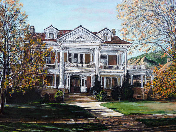 Painting - Mapleton Hill Homestead by Tom Roderick