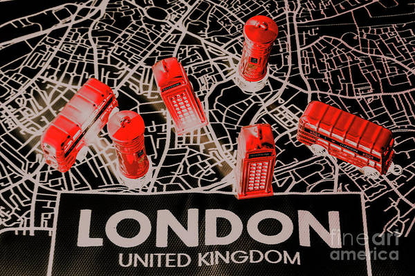 English Photograph - Maps From London Town by Jorgo Photography - Wall Art Gallery